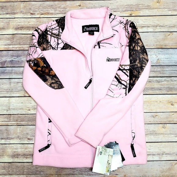 Rocky Other - Rocky Mossy Oak Pink Camo Fleece